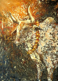 Holy, everything is holy, 132x96cm, 2002
